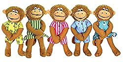 merry makers five little monkeys finger puppets