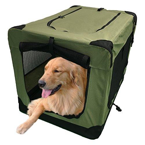 ソフクレート (XL) 大型犬(31.8kg)用キャリーバッグ 組み立て式【幅62×奥行90×高さ62cm】