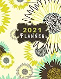 2021  Planner Jaspi: 2021 Monthly Planner, Monthly Calendar Planner, Monthly Schedule Organizer- Agenda Planner for the Next Twelve Months/12 Months ... inches (1 Year Diary/1 Year Calendar/Logbook)