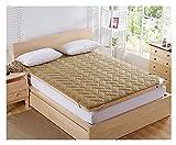 AiKoch Colchón de Fibra de bambú. Espuma Masaje colchón Topper para Doble Dormitorio Individual (Color Classification :...