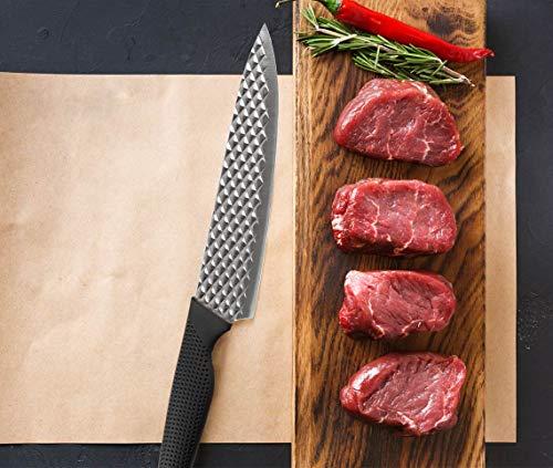 Mediashop Harry Blackstone Airblade Messer Set – scharfe und langlebige Küchenmesser – Kochmesser mit Antihaft-Klinge – Set aus 10 Messern für Jede Gelegenheit - 4