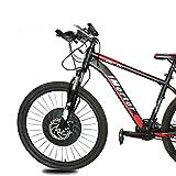 Bicicleta Eléctrica Kit De Conversión APP Opcional Pantalla 24' 26' 27.5' 29''700C 36V 7.2AhDisc V Freno De Bicicleta 40 Kilometros E Kit De Conversión / HEbike ( Color : V APP control , Size : 700C )