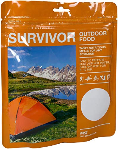 normani Notration Survivor Outdoor Food Farbe Curryhuhn mit Reis