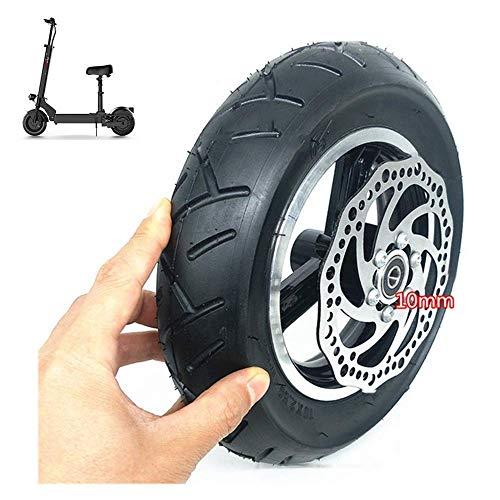 Neumáticos para scooter eléctrico, juego inflable de 10 pulgadas en las cuatro ruedas, neumáticos interiores y exteriores de 10x2,50, incluidas pastillas de freno de disco, adecuado para el reemplaz
