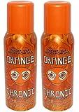 Orange Chronic Smoke Out AIR Freshener Spray 4oz (2 Large Cans)