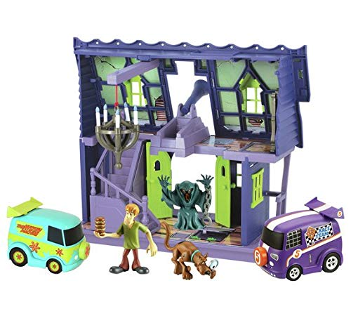 Scooby Doo Haunted Mystery Mansion Playset with Vehicles and Figures
