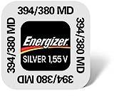 Energizer–Set di 10Blister di 1batteria ossido di argento per orologi 394/380SR45SR936SW
