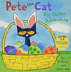 Easter books, pete the cat easter adventure book