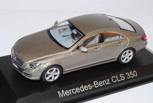 Norev Mercedes-Benz CLS 350 CGI Grau C218 Ab 2011 1/43 Modell Auto mit individiuellem Wunschkennzeichen