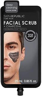 Skin Republic-Men's Charcoal Facial Scrub