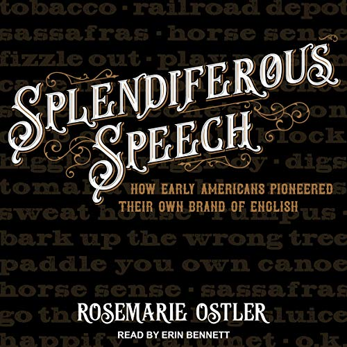 Splendiferous Speech audiobook cover art