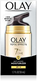 Day Cream Total Effects 7in1 Anti-Ageing with SPF15 by Olay - 50 ML