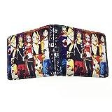 Anime Portafoglio One Piece Studenti Uomini e Donne Pieghevole Card Pack PU Piccolo Portafoglio Porta Carta di Credito