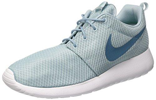 Nike Roshe One, Zapatillas de Running Hombre, Azul (Mica Blau/Rauchblau/weiß/stadion Grün), 47...