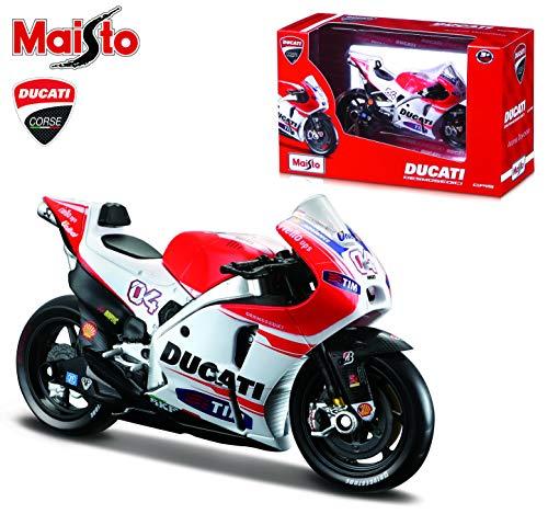 Maisto- Moto GP Ducati 1:18-10cm, (34588P/31588)