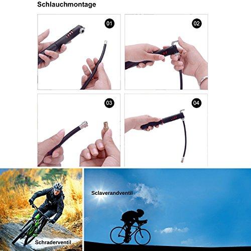 Smooth Rangers – Fahrrad Reparaturset in Tasche, Multitool & hochwertige Alu Mini Luftpumpe sowie Reifenheber, Selbstklebende Flicken inkl, Sorglos-Paket für Ihren nächsten Radtouren - 5
