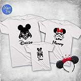 Custom Family Matching Shirts, Cute Vacation T-shirt, Ladies Trip 2020