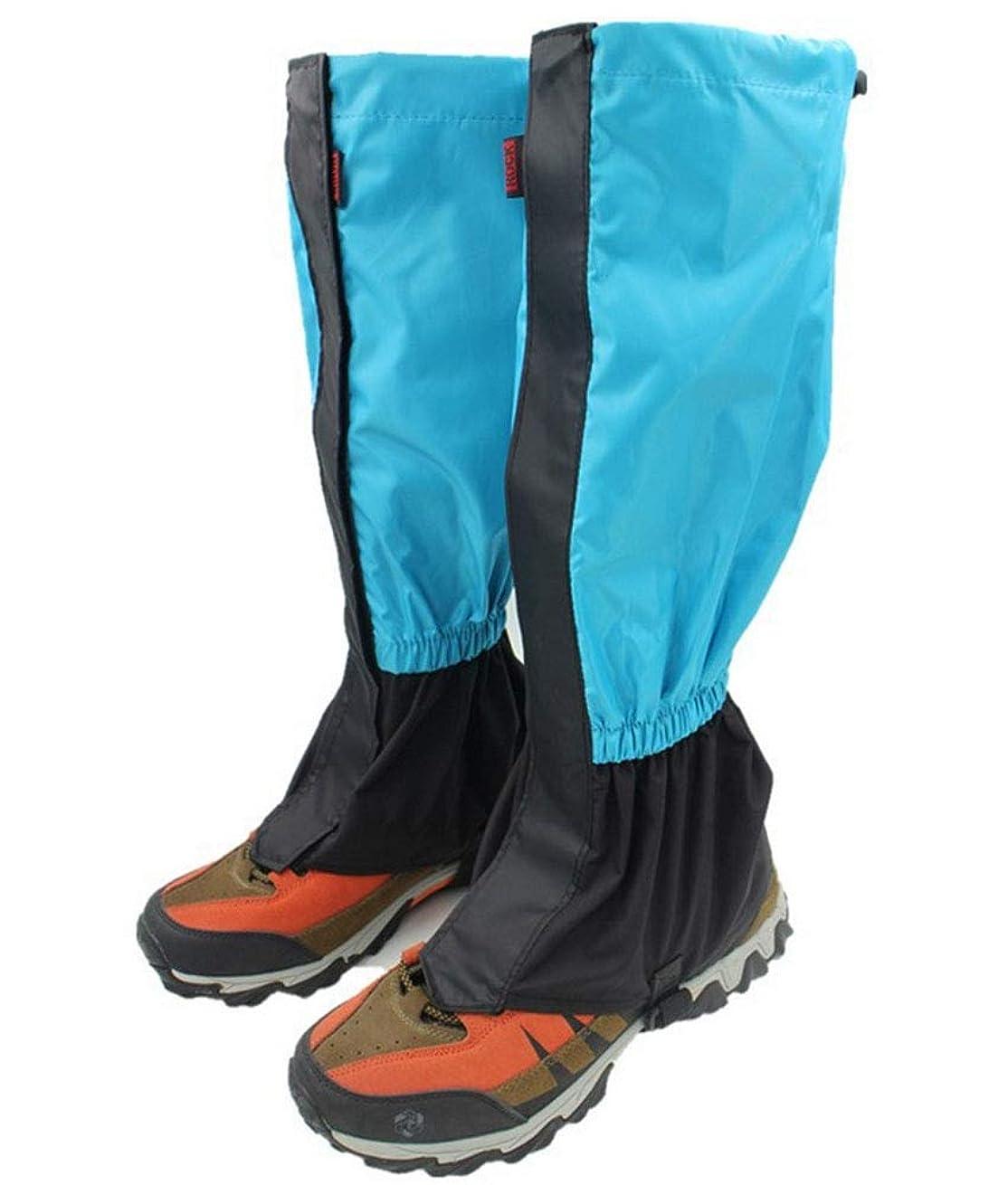 の中で是正耕すLuckerjun 登山ゲイター ロングスパッツ トレッキング クライミング ハイキング 防水 泥除け レッグカバー 雨よけ 雪対策 登山スパッツ アウトドア 男女兼用