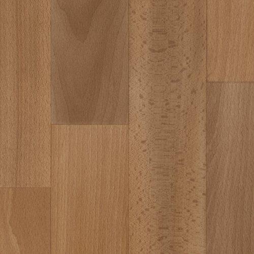 Vinylboden PVC Bodenbelag | Holzoptik Schiffsboden Buche dunkel | 200, 300 und 400 cm Breite | Meterware | Variante: 7 x 2m