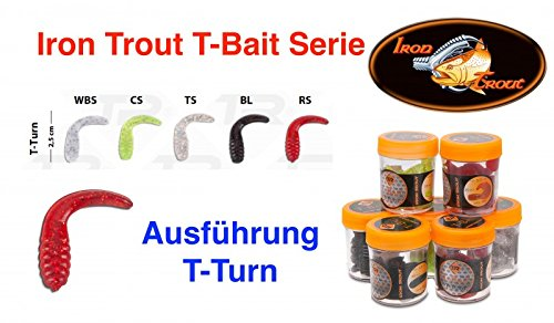 Sänger Top Tackle Systems Iron Trout T-Bait Serie (Forellenköder T-Turn / 2,5cm), Ködertyp:TS