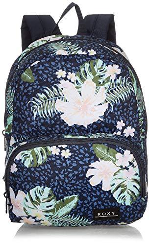 ROXY Damen Always Core Printed Backpack, Mood Indigo ANIMALIA S, One Size