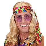 Parrucca 'Hippie Dude' Bionda
