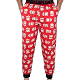 Liverpool FC - Pantalones de Pijama Oficiales - para Hombre - Rojo Mediana