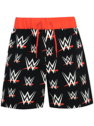 WWE Boys' World Wrestling Entertainment Shorts Black Size 10