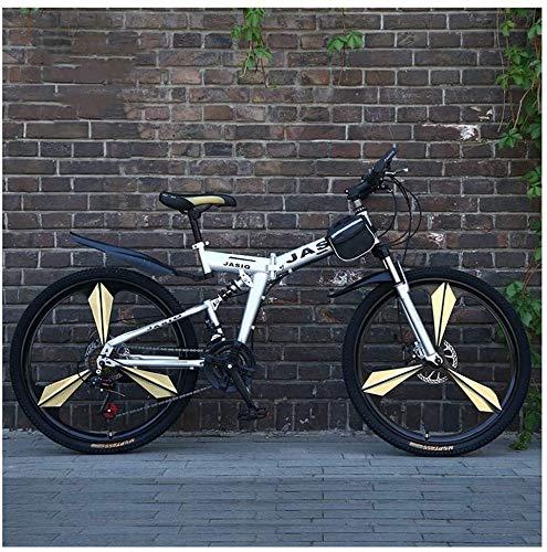 LKAIBIN Bicicleta de Cross Country Sport al aire libre para bicicleta de montaña para adultos de 26 pulgadas (27 velocidades)