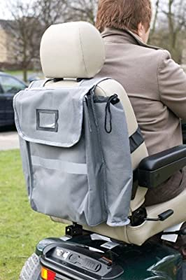 Mobility Scooter crutch / walking stick bag
