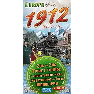 Ticket To Ride: 1912 Expansion