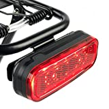 BikeSpark Auto-Sensing Rear Light G4 for Cargo Carrier - 50lm...