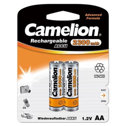CAMELION - 17023406 17023206 Akku NI-MH HR6/ Mignon/ 2300mAh/ 1,2V - 2er Pack 241353