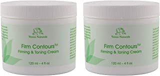 Firm Contours, Body Firming & Toning and Cellulite Cream with Algae Serum, 2-4oz Jars