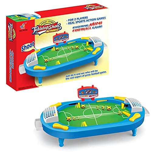 Enemy Tabla para niños Juegos de fútbol de alivio de estrés Padre-niño Doble batalla Mábrica Máquina de fútbol Decompresión Educativa Regalos de juguete Es un gran regalo para Navidad, Acción de Graci