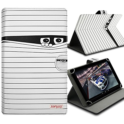 Karylax - Funda de protección universal para tablet Sunstech TAB88QCBT de 8 pulgadas, diseño SC04