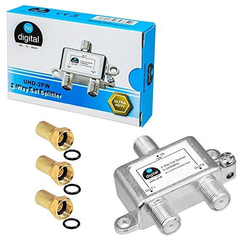 Distribuidor Amplificador de señal–Antena de Juego de HB Digital + F macho
