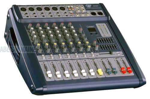 of pylepro karaoke mixers Pyle-Pro PMX608 6 Channel 500 Watts Digital Powered Stereo Mixer W/DSP