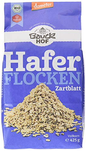 Bauckhof Haferflocken Zartblatt Demeter, 1er Pack (1 x 425 g)