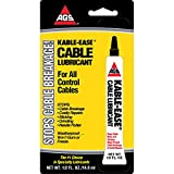 KABLE-EASE Cable and Chain Lubricant for all Control Cables - Stops and Prevents Cable Breakage