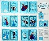 Frozen Winterzauber, Baumwolle, Buch BLECH-Federn