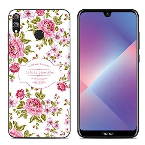 Litao-Case LLM Custodia per Huawei Honor 8X JSN-LX3 JSN-L23 Custodia TPU Morbido Silicone Case Cover 6