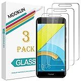 [Pack de 3] MOOKLIN Verre Trempé Huawei Honor 6C Pro, [ANTI RAYURES] Film Protection...