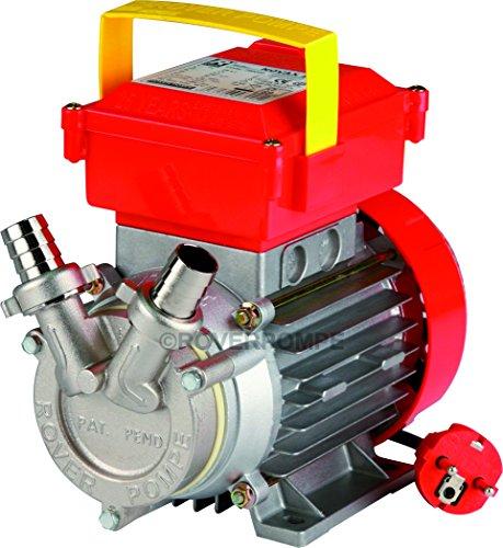 Elektropumpe für Öl Novax Öl 14 mit Olivenöl aus Edelstahl mit elektrischer Pumpe