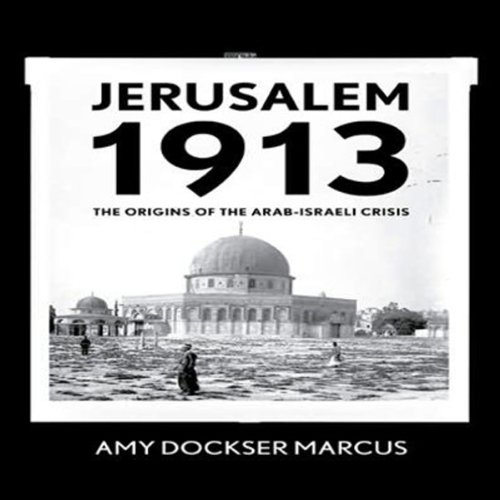 Jerusalem 1913 cover art