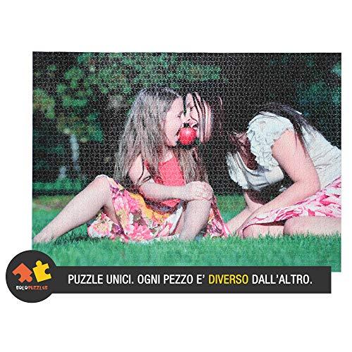 Solopuzzles Puzzle Personalizzato con la Tua Foto Preferita. 3000 Pezzi (96 x 68 cm). 10 Formati Disponibili (da 48 a 3000 Pezzi)