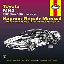 [Toyota MR2, 1985-87 Owner's Workshop Manual] (By: Mike Stubblefield) [published: September, 1988]