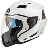 AIROH EX14 Executive Color White Gloss S, Bianco, S
