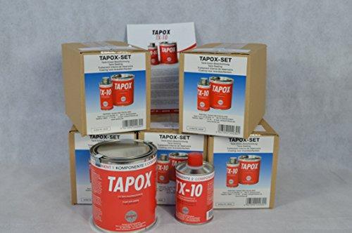 Preisvergleich Produktbild 6 SETS FERTAN TAPOX 2-KOMPONENTEN EPOXY TANKVERSIEGELUNG;TANK;ROST;AUTO;MOTOR... Innenbeschichtung, Tankrestaurierung