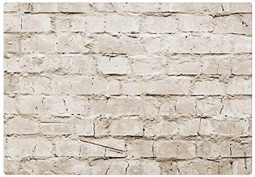 mySPOTTI moderner Spritzschutz Motiv Mauerwerk Mauer Steine Aluminium Küche Herd Kochfeld